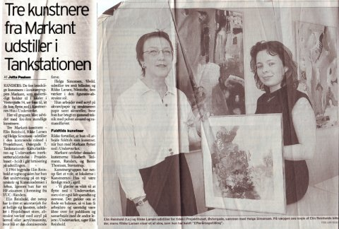 Articel about group exhibition in 2000